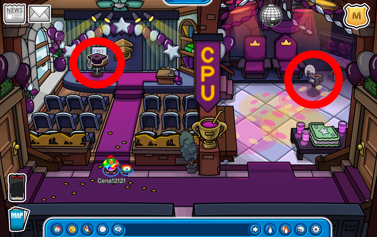 Club Penguin Graduation & Prom Mini Party