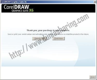 install corel draw x6