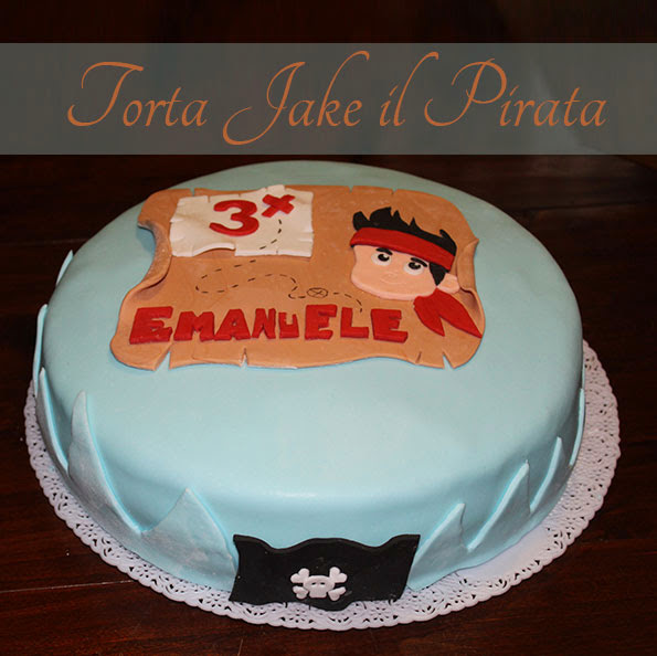 Torta Jake il Pirata