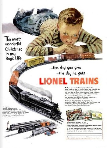 1951 Lionel trains
