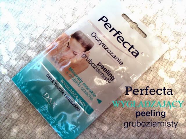 Dax Cosmetics, Perfecta Oczyszczanie, Peeling gruboziarnisty z minerałami morskimi i drobinkami orzecha