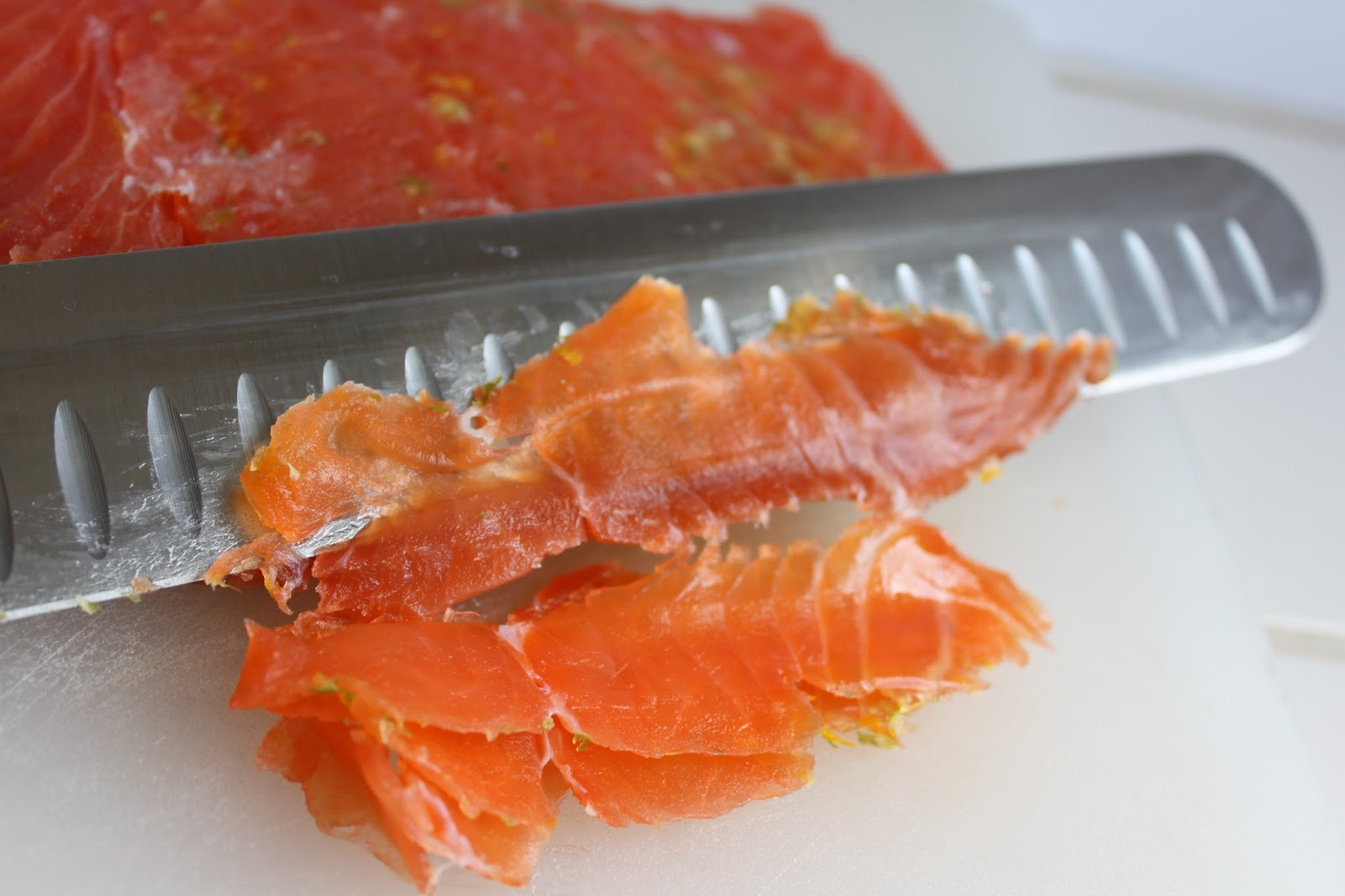 """... the Eyes: How to make your own """"Gravlax"""" - Simple Citrus Cured ..."""