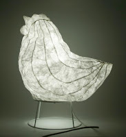Tyvek inflatable chickenlamp