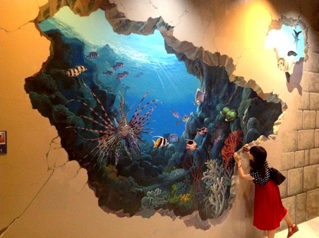 Amazing 3D Wall Painting | Dream Houses (Ideas for in Paradise) | Pinterest  | 3d wall painting
