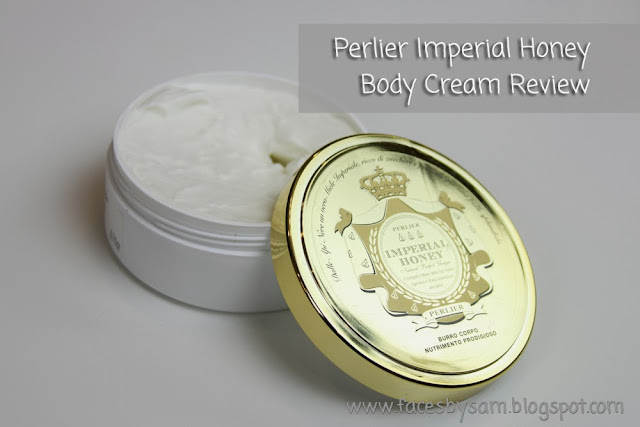 Perlier Imperial Honey Body Cream Review