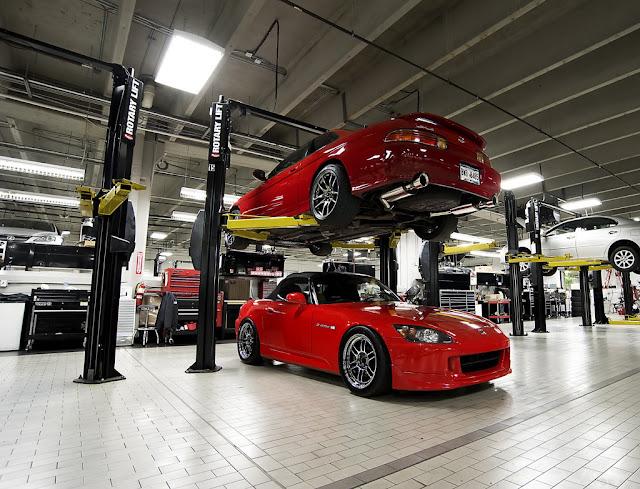 Lexus SC Z30 & Honda S2000 tuning japoński sportowy samochód roadster VTEC RWD
