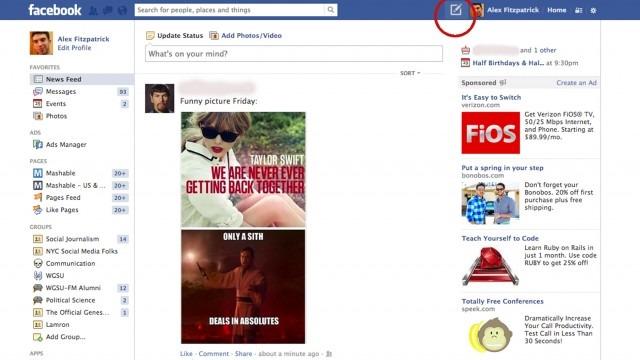 facebook condivisione