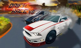 Screenshots of the Drift race V8 for Android tablet, phone.