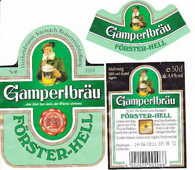 Gampertbräu/Weissenbrunn: Förster-Hell (Bier 39)