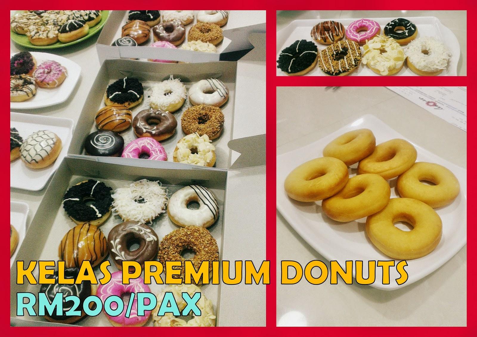 Resepi Donut Premium