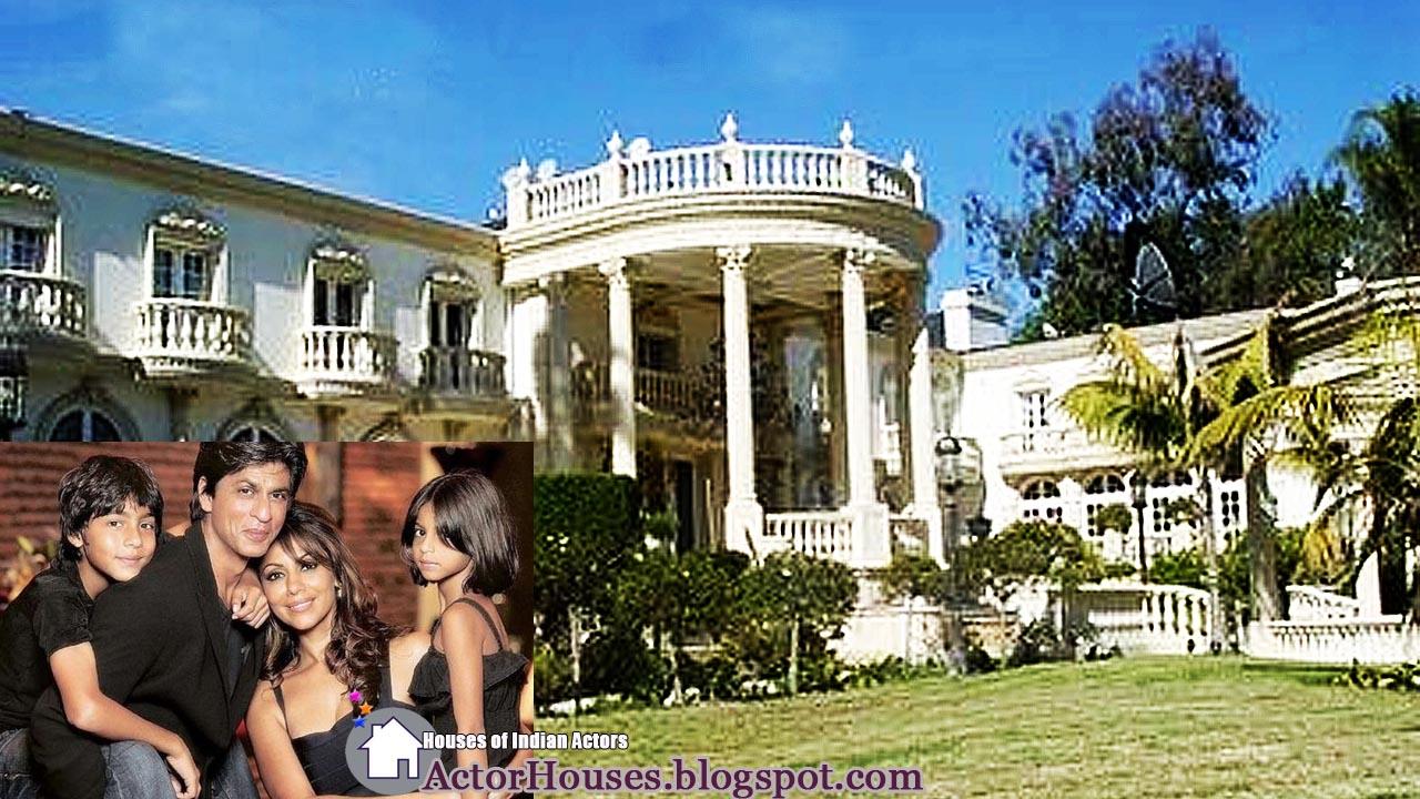 Bollywood Actor Sharukh Khan House Exterior View