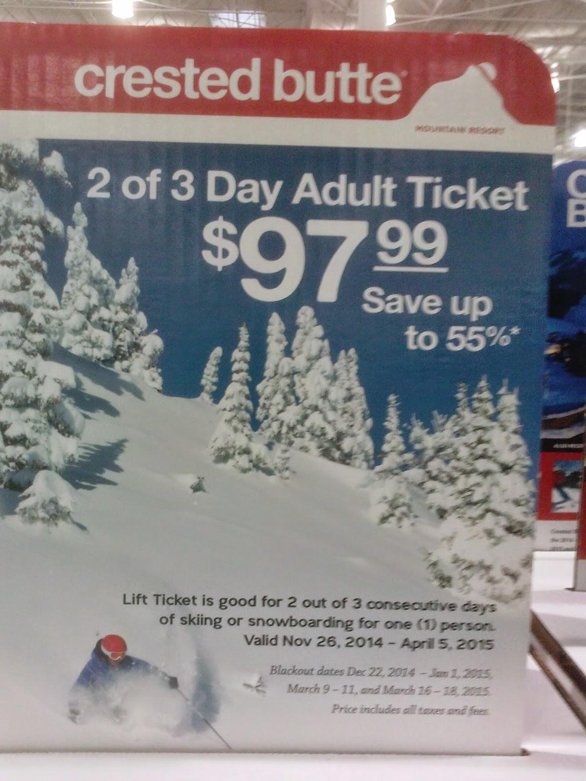 Best ski lift ticket deals colorado
