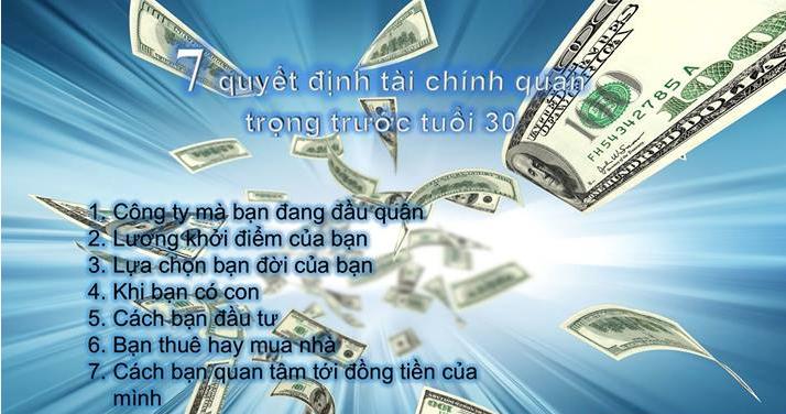 7 quyết định tài chính quan trọng trước tuổi 30, tài chính, cân bằng tài chính, cách làm giàu, làm giàu