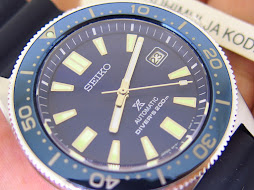 SEIKO DIVER REISSUE 6217 SUNBURST BLUE DIAL - SEIKO SPB053J1 - AUTOMATIC 6R15 - MINT CONDITION