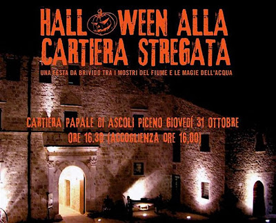 Halloween Ascoli Cartiera Papale