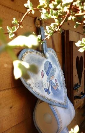 Il bosco di camelot porta carta igienica - Dove mettere il porta carta igienica ...