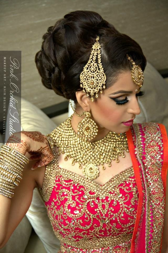 New Eastern bridal hair style in 2016 ~ Just Bridal