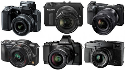 digital camera, mirrorless camera, sony NEX, Panasonic, Olympus