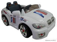 Junior TR1201A BMW Mobil Mainan Aki