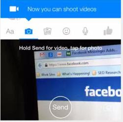 facebook inviare video