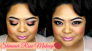http://www.villabeautifful.com/2013/11/tutorialget-ready-with-me-shimmer-rose.html