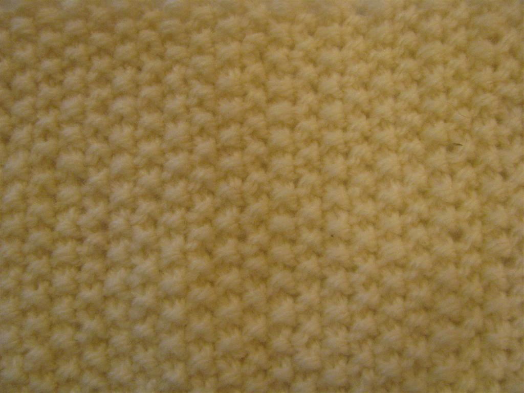 Knitting Moss Stitch How To : The Wool Shop: How to Knit Moss Stitch