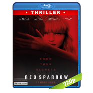 Operación Red Sparrow (2018) BRRip 720p Audio Dual Latino-Ingles
