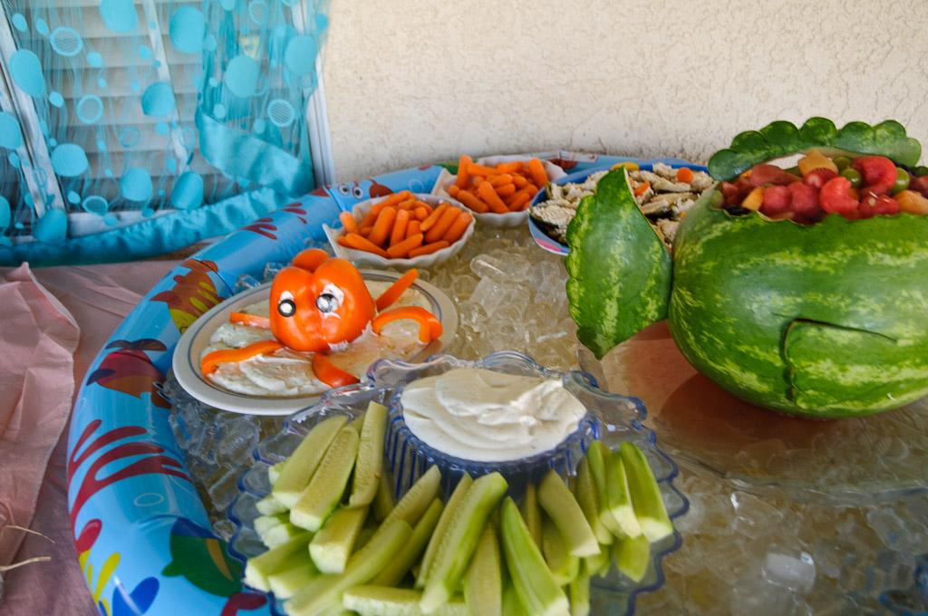 Craft Time Mermaid Food