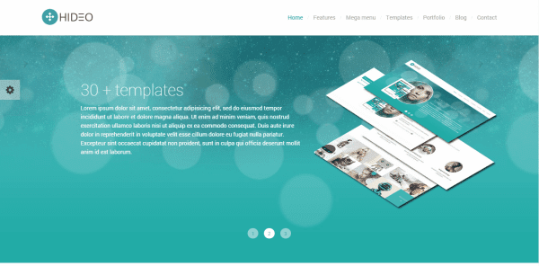 Hideo | HTML5 Bootstrap Website Template