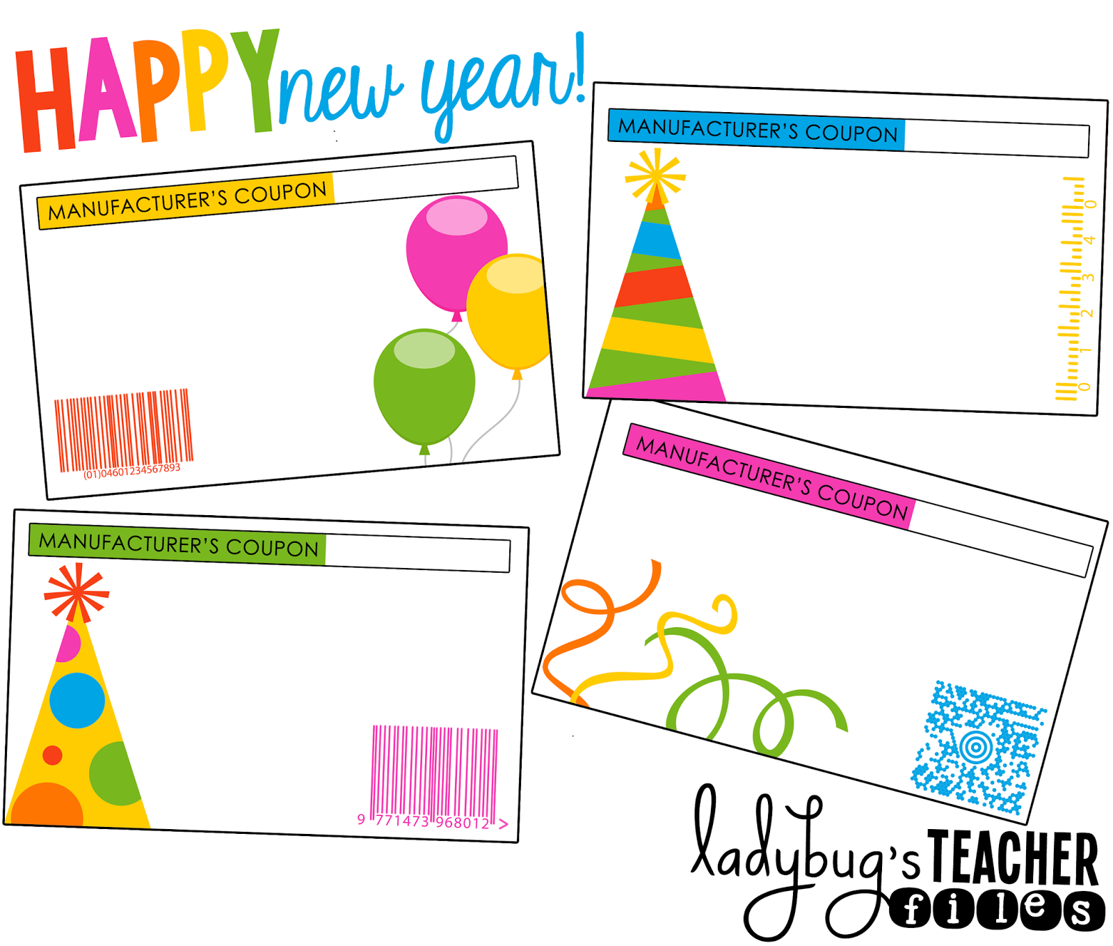 2014 ladybug s teacher files ladybug s teacher files editable holiday coupons for student gifts