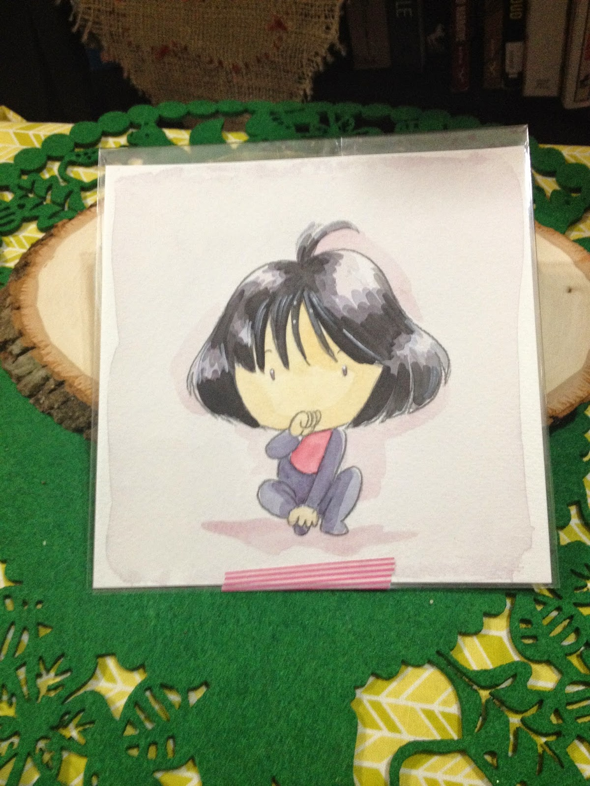 Baby Sailor Saturn Watercolor