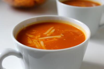 Zupa krem z pieczonymi warzywami