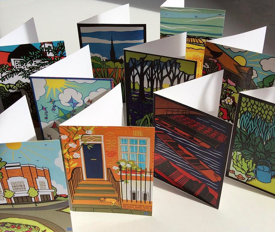 Buy my greetings cards here: