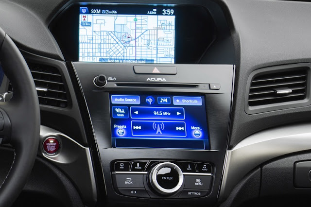 2016 Next Acura ILX Generation digital dashboard view