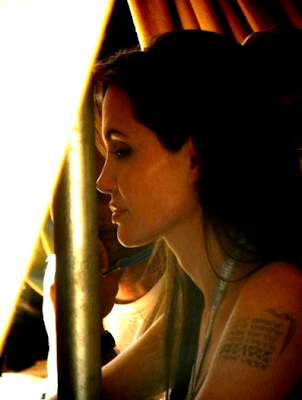 Angelina Jolie's intriguing new tattoo