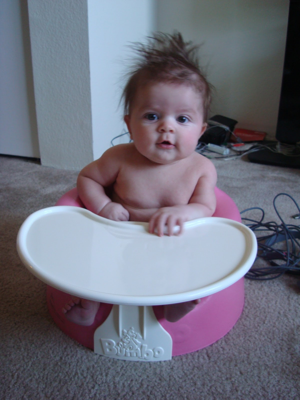 The Blegen Bunch The Bumbo Floor Seat and Tray