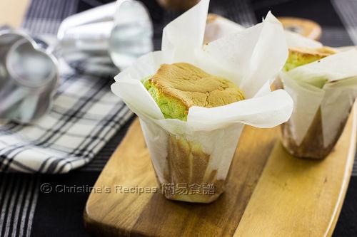 班蘭紙包蛋糕 Pandan Wrapped Cakes02