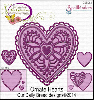 ODBD Ornate Hearts Dies