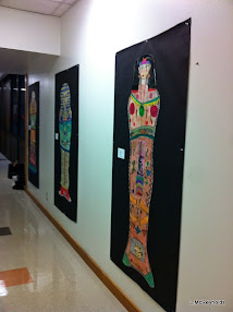 Displaying Student Art in the Community