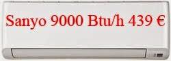 ΠΡΟΣΦΟΡΑ ΜΑΡΤΙΟΥ: Kλιματιστικά SANYO 9000 Btu/h INVERTER 439€