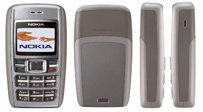 Ponsel Terlaris Di Dunia - Nokia 1600