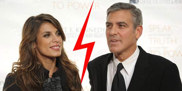 Elisabetta Canalis Sad Split from Clooney