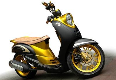 Foto Modifikasi Motor Yamaha Mio Fino