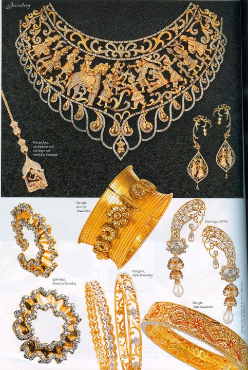 Beautiful Orra Jewellery In Femina Bridal Edition