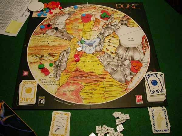 Dune juego mesa Avalon Hill