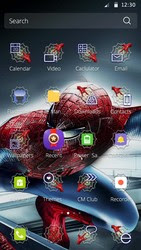 Screenshots of the Spider-man for Android tablet, phone.