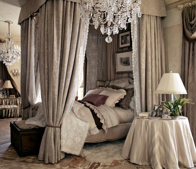 canopy bed bedroom albert hadley bunny williams luxurious