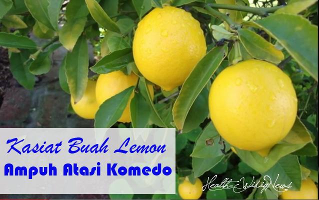 Kasiat Buah Lemon Ampuh Atasi Komedo