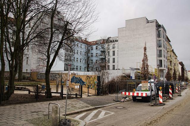 0442, Baustelle Neubau einer Jugendfreizeiteinrichtung (JFE), Pasteurstraße 22, 10407 Berlin, 02.02.2015