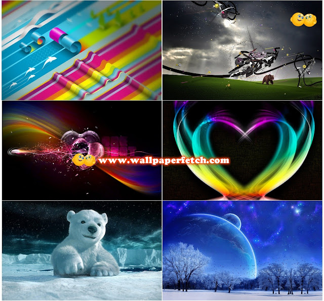 Name : 3D Wallpaper Pack 5